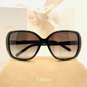 Chloe Sunglasses Style CE680S in Black